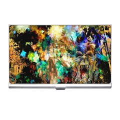 Abstract Digital Art Business Card Holders