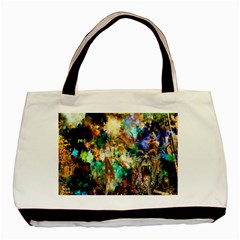Abstract Digital Art Basic Tote Bag (Two Sides)