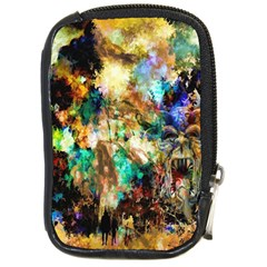 Abstract Digital Art Compact Camera Cases