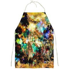 Abstract Digital Art Full Print Aprons