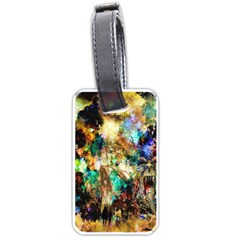 Abstract Digital Art Luggage Tags (One Side)