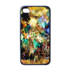 Abstract Digital Art Apple iPhone 4 Case (Black)