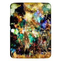Abstract Digital Art Samsung Galaxy Tab 3 (10.1 ) P5200 Hardshell Case