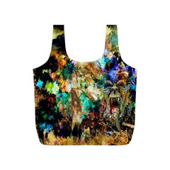 Abstract Digital Art Full Print Recycle Bags (S)