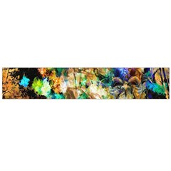 Abstract Digital Art Flano Scarf (Large)