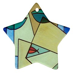 Abstract Art Face Ornament (Star)