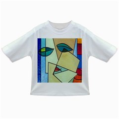 Abstract Art Face Infant/Toddler T-Shirts