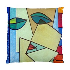Abstract Art Face Standard Cushion Case (one Side)