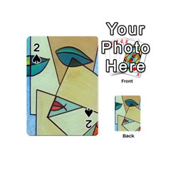 Abstract Art Face Playing Cards 54 (Mini)