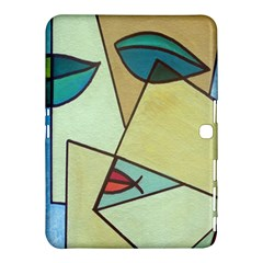 Abstract Art Face Samsung Galaxy Tab 4 (10 1 ) Hardshell Case
