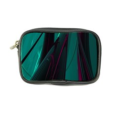 Abstract Green Purple Coin Purse