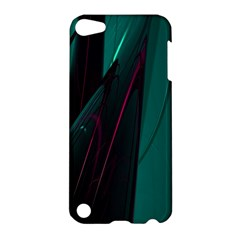 Abstract Green Purple Apple iPod Touch 5 Hardshell Case