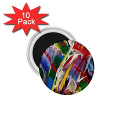 Abstract Art Art Artwork Colorful 1.75  Magnets (10 pack)