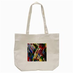 Abstract Art Art Artwork Colorful Tote Bag (cream)