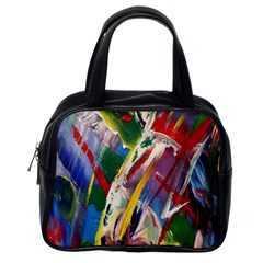 Abstract Art Art Artwork Colorful Classic Handbags (One Side)