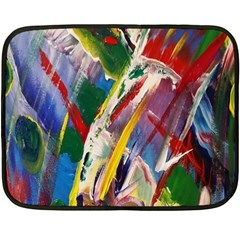 Abstract Art Art Artwork Colorful Fleece Blanket (Mini)