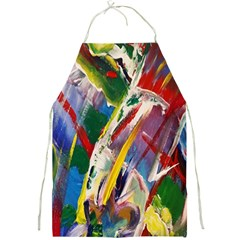 Abstract Art Art Artwork Colorful Full Print Aprons
