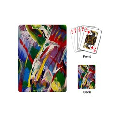 Abstract Art Art Artwork Colorful Playing Cards (Mini)