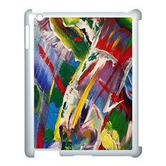 Abstract Art Art Artwork Colorful Apple iPad 3/4 Case (White)