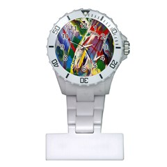 Abstract Art Art Artwork Colorful Plastic Nurses Watch