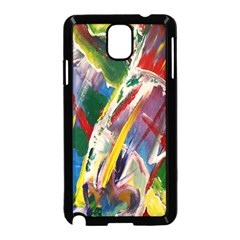 Abstract Art Art Artwork Colorful Samsung Galaxy Note 3 Neo Hardshell Case (Black)