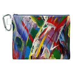 Abstract Art Art Artwork Colorful Canvas Cosmetic Bag (XXL)