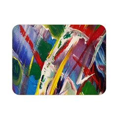 Abstract Art Art Artwork Colorful Double Sided Flano Blanket (Mini)