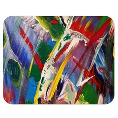 Abstract Art Art Artwork Colorful Double Sided Flano Blanket (medium)