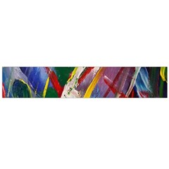 Abstract Art Art Artwork Colorful Flano Scarf (Large)