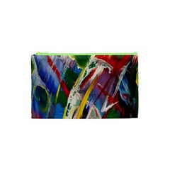 Abstract Art Art Artwork Colorful Cosmetic Bag (XS)