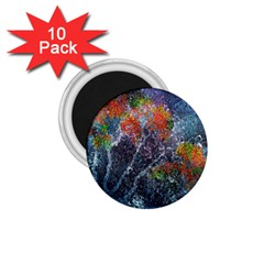 Abstract Digital Art 1.75  Magnets (10 pack)