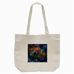 Abstract Digital Art Tote Bag (Cream)