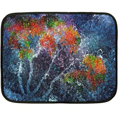 Abstract Digital Art Double Sided Fleece Blanket (Mini)