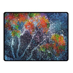 Abstract Digital Art Fleece Blanket (Small)