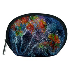 Abstract Digital Art Accessory Pouches (Medium)