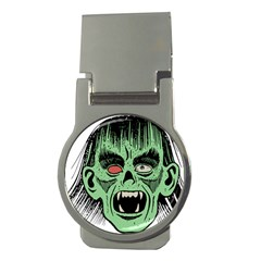 Zombie Face Vector Clipart Money Clips (Round)