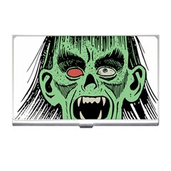 Zombie Face Vector Clipart Business Card Holders