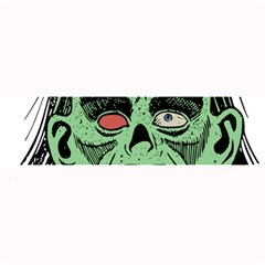 Zombie Face Vector Clipart Large Bar Mats