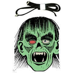 Zombie Face Vector Clipart Shoulder Sling Bags