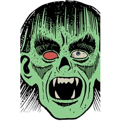 Zombie Face Vector Clipart 5 5  X 8 5  Notebooks