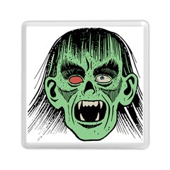 Zombie Face Vector Clipart Memory Card Reader (Square)