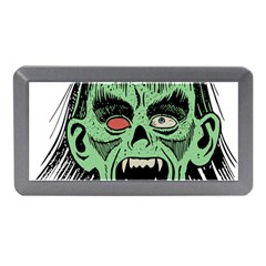 Zombie Face Vector Clipart Memory Card Reader (Mini)
