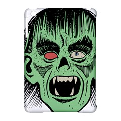 Zombie Face Vector Clipart Apple iPad Mini Hardshell Case (Compatible with Smart Cover)