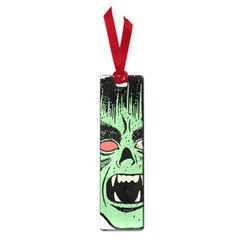 Zombie Face Vector Clipart Small Book Marks