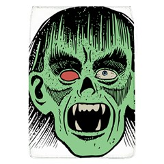 Zombie Face Vector Clipart Flap Covers (L)