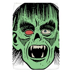 Zombie Face Vector Clipart Flap Covers (S)