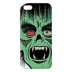 Zombie Face Vector Clipart iPhone 5S/ SE Premium Hardshell Case