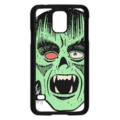Zombie Face Vector Clipart Samsung Galaxy S5 Case (black)
