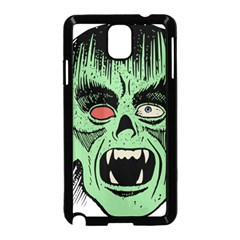 Zombie Face Vector Clipart Samsung Galaxy Note 3 Neo Hardshell Case (black)