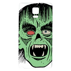 Zombie Face Vector Clipart Galaxy Note 4 Back Case